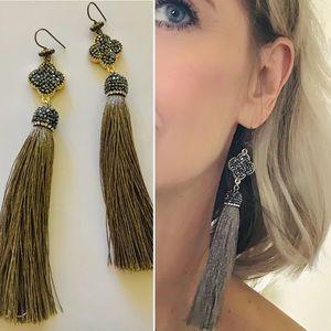 Jewelry - Handmade tassel earrings